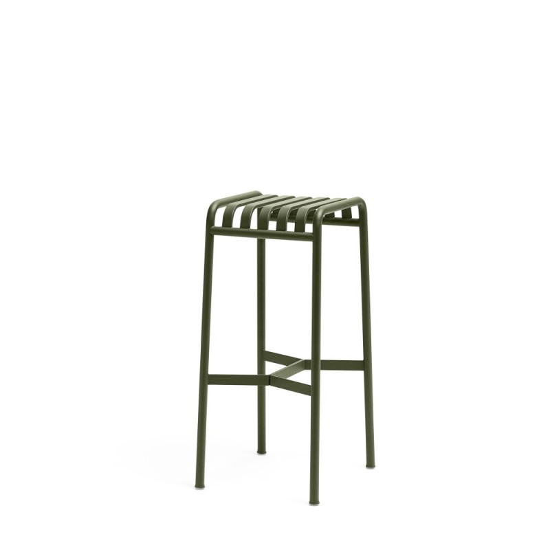 PALISSADE BAR STOOL - OLIVE GREEN