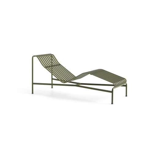PALISSADE CHAISE LONGUE - OLIVE GREEN