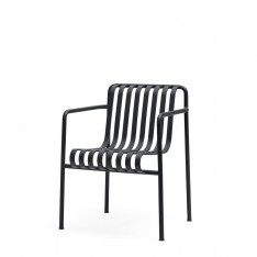 HAY PALISSADE DINING ARMCHAIR - ANTRACIET
