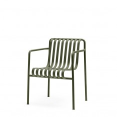 HAY PALISSADE DINING ARMCHAIR - OLIVE GREEN
