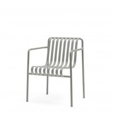 HAY PALISSADE DINING ARMCHAIR - GRIS CLAIR