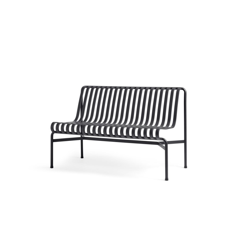PALISSADE DINING BENCH W/O ARMREST - ANTHRACITE