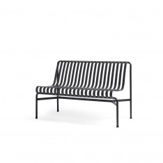 HAY PALISSADE DINING BENCH W/O ARMREST - ANTHRACITE
