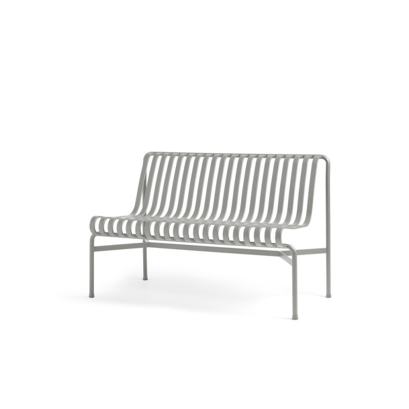 PALISSADE DINING BENCH W/O ARMREST - GRIS CLAIR