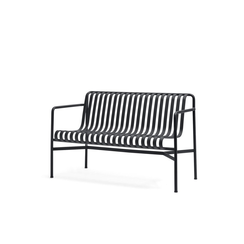 PALISSADE DINING BENCH - ANTRACIET