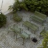 HAY PALISSADE DINING BENCH - OLIVE GREEN