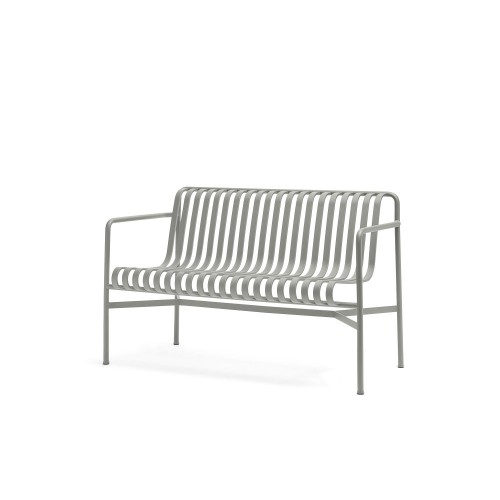 PALISSADE DINING BENCH - SKY GREY
