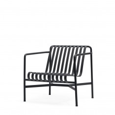 HAY PALISSADE LOW LOUNGE CHAIR - ANTHRACITE
