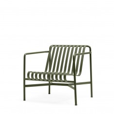 HAY PALISSADE LOW LOUNGE CHAIR - OLIVE GREEN