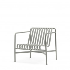 HAY PALISSADE LOW LOUNGE CHAIR - GRIS CLAIR
