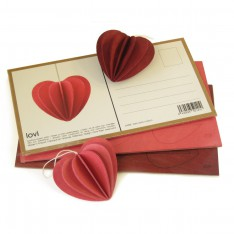LOVI HEART 4,5CM BRIGHT RED