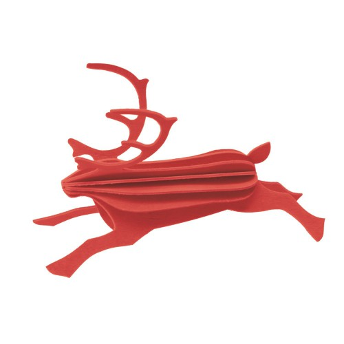 LOVI REINDEER 12CM BRIGHT RED