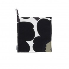 MARIMEKKO PIENI UNIKKO POT HOLDER BLACK
