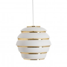 A331 BEEHIVE PENDANT - BRASS