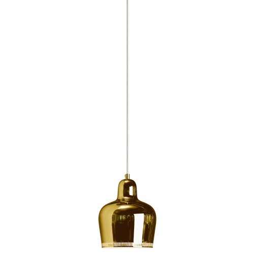 A330S GOLDEN BELL PENDANT - BRASS