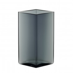 RUUTU VASE 115X180MM GREY