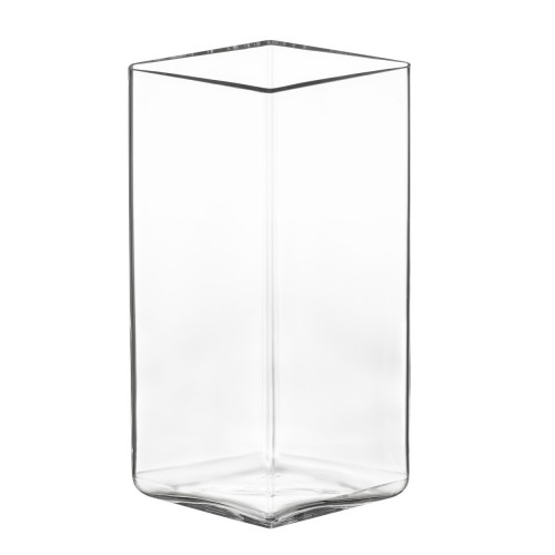 RUUTU VASE 115X180MM CLEAR