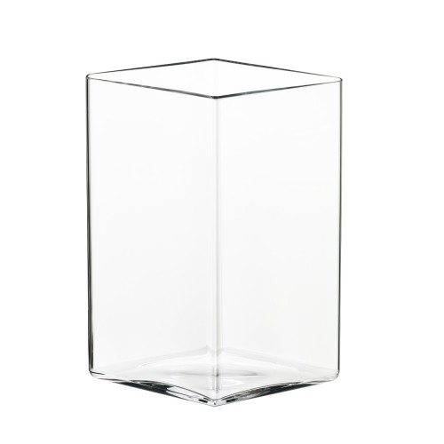 RUUTU VASE 205X270MM CLEAR