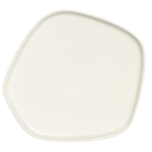 IITTALA X ISSEY MIYAKE PLATTER 21x20 CM WHITE