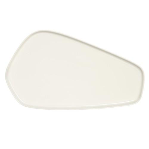 IITTALA X ISSEY MIYAKE PLATTER 20x35 CM WHITE