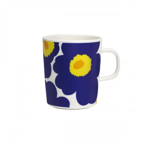 OIVA/UNIKKO MUG 2.5DL BLUE-YELLOW
