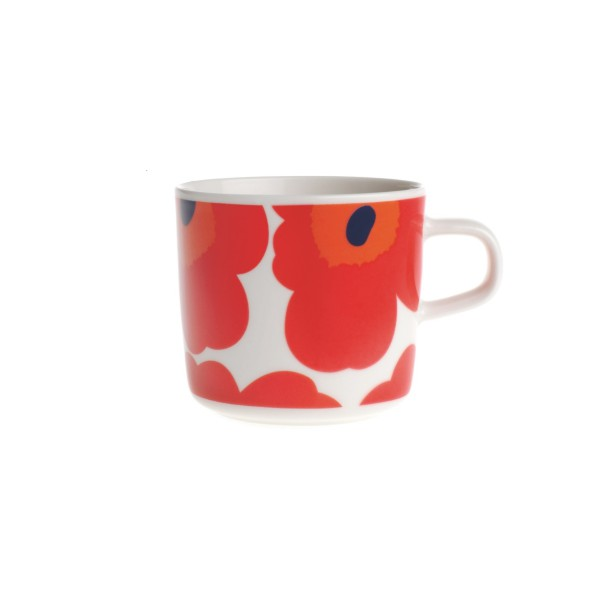 marimekko oiva unikko tasse caf 2dl rouge. Black Bedroom Furniture Sets. Home Design Ideas