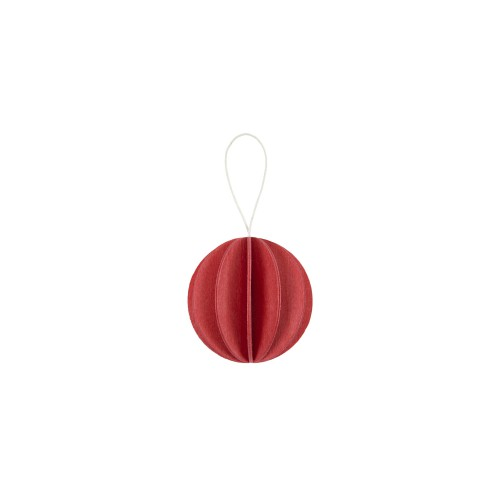 LOVI CHRISTMAS BAUBLES 3.5 CM 7/card