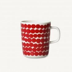 OIVA/SIIRTOLAPUUTARHA COFFEE CUP 2,5DL RED