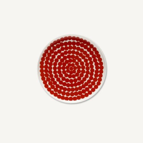 OIVA/SIIRTOLAPUUTARHA PLATE 20CM RED