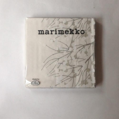 MARIMEKKO PAPIEREN SERVET - GROOT - LUMIMARJA