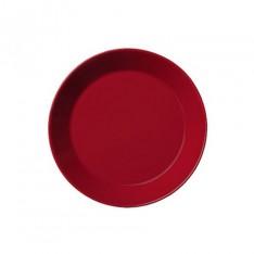 TEEMA PLATE 17CM RED
