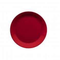 TEEMA PLATE 21CM RED