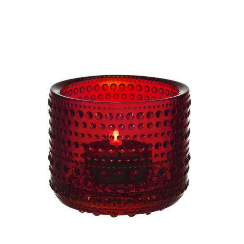 KASTEHELMI VOTIVE 64MM CRANBERRY