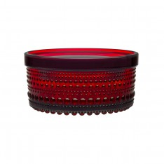 IITTALA KASTEHELMI JAR 116X 57MM CRANBERRY