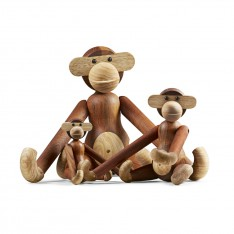 KAY BOJESEN WOODEN MONKEY LARGE
