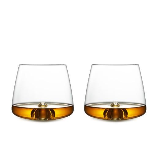 WHISKY GLAS 2 STUKS