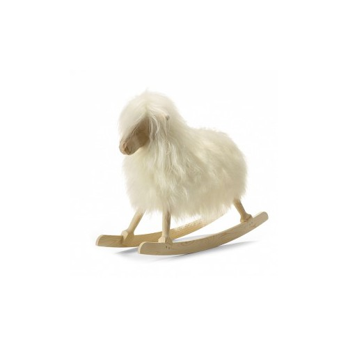 ROCKING SHEEP BLANC LAINE LONGUE