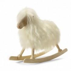 ROCKING SHEEP WHITE LONG WOOL