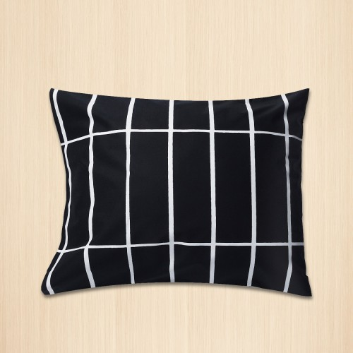 TIILISKIVI CUSHION COVER 60X40CM BLACK