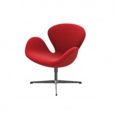 SWAN CHAIR FABRIC DIVINA 623