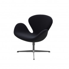 SWAN CHAIR FABRIC HALLINGDAL 190