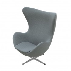 EGG CHAIR FABRIC HALLINGDAL 130