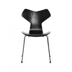 FRITZ HANSEN GRAND PRIX CHAIR COLOURED ASH 3130