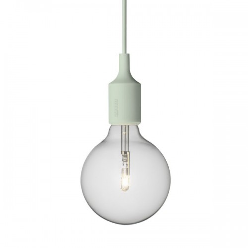 E27 LAMPE SUSPENSION VERT CLAIR
