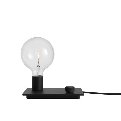 CONTROL LAMPE DE TABLE NOIR