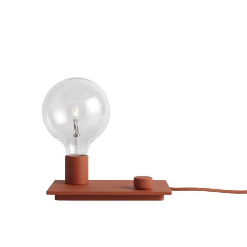 CONTROL LAMPE DE TABLE ROUGE