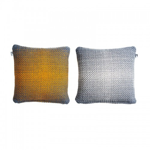GRADIENT CUSHION COVER 50X50CM YELLOW