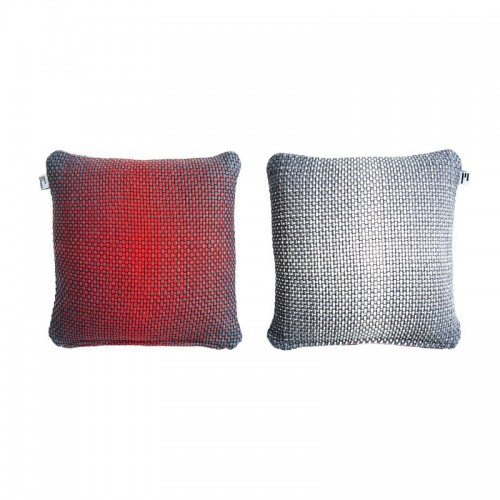 GRADIENT CUSHION COVER 50X50CM RED