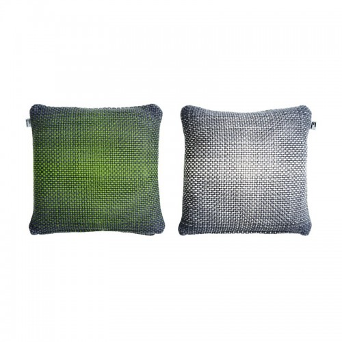 GRADIENT CUSHION COVER 50X50CM GREEN