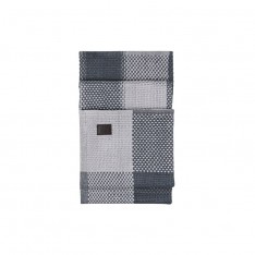 MELTING CHESS THROW 130X180CM GREY